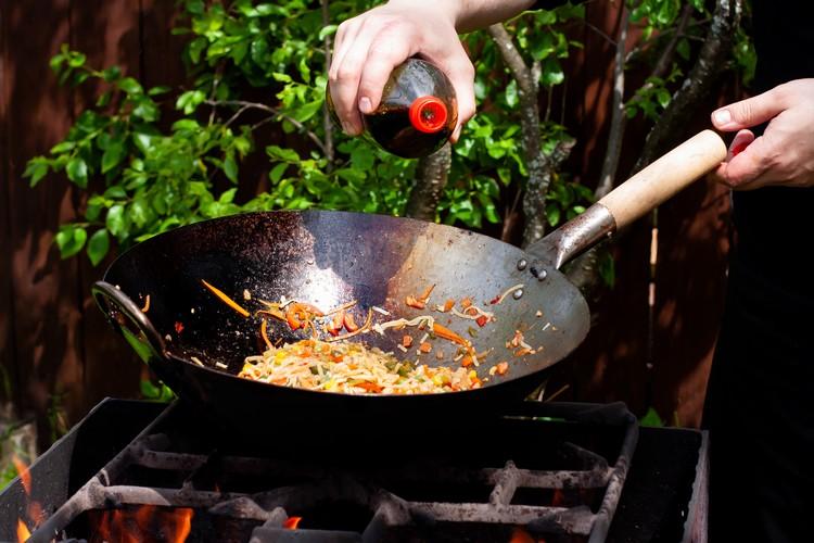 wok-cuisson
