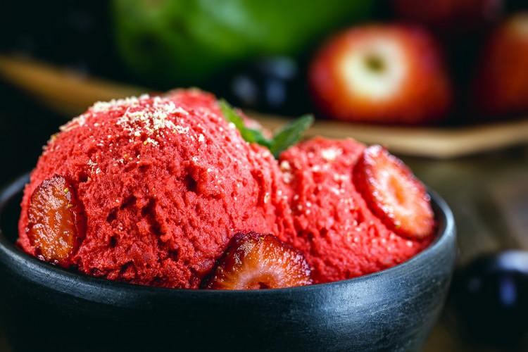glace-fraise-vegan